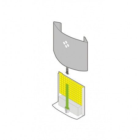 12 Laminas Adhesivas-RECAMBIOS para Luxer Absor Trap 6 Atrapa Insectos