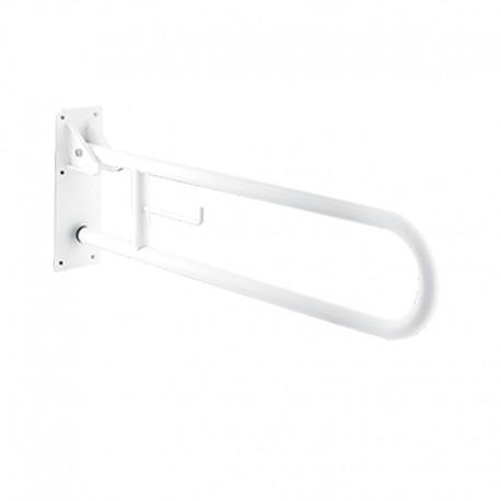 Barra Apoyo Acero Blanco 80 cm