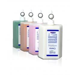 4 Cargas Duo Crema Hidratante Seda 1 L.