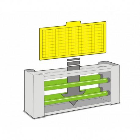 12 Laminas Adhesivas Atrapa Insectos Absor Trap 9 (Modelos Dual-90 y Mural-45)