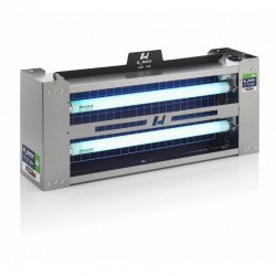 Exterminador Captura Insectos E_Inox Dual Light 60 W