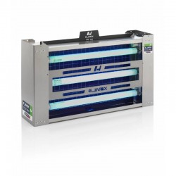 Exterminador Captura Insectos E_Inox Dual Light 90 W