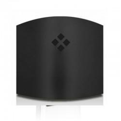 Atrapa Insectos 25 m2 Aplique Negro Luxer 11 W con Laminas Adhesivas