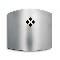 Atrapa Insectos 45 m2 Aplique eléctrico Inox 22 W Luxer con Laminas Adhesivas