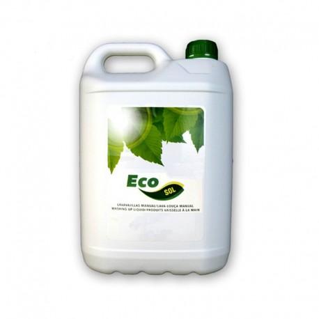 Jabón Lavavajillas Ecológico Manual Ecosol 5 L.