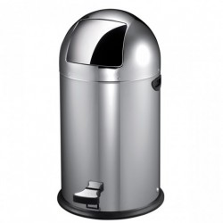 Papelera Cubo Pedal 40 L Inox