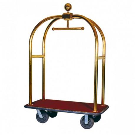Portamaleta Lujo con Cúpula Latón Oro