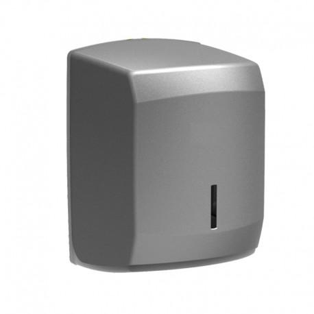 Dispensador de Bobinas Papel Secamanos para instalar en paredes de cocina - color inox Plata