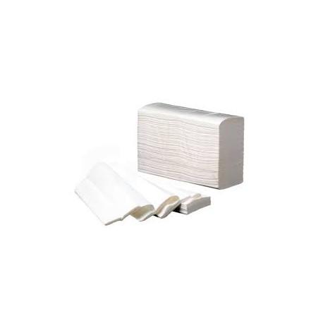4000 unidades de Toallas de papel Secamanos para baños Eco-Pasta (20 paquetes de  200 unds.)