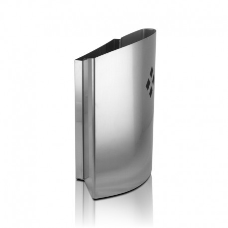Atrapa Insectos 60 m2 Aplique eléctrico Inox 26 W Luxer con Laminas Adhesivas