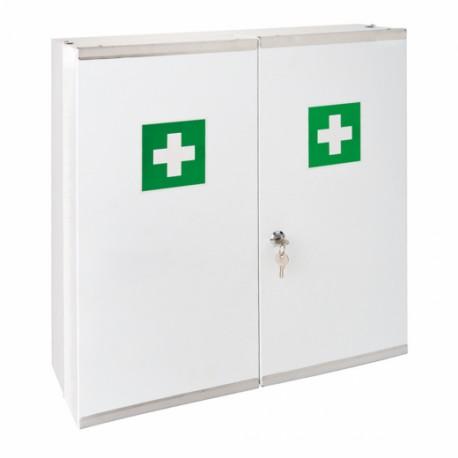 Armario Botiquin de Metal Blanco 2 puertas