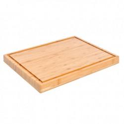 Tabla cortar madera de Bambú 40x30x3 cm