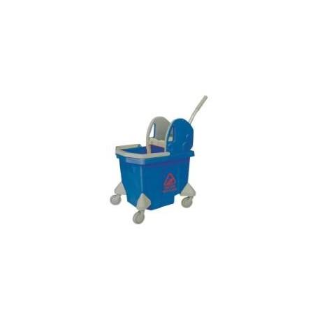 Cubo Tank Azul 24 Litros con Prensa y Escurridor