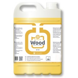 Limpiasuelos Jabonoso para Madera Parquet Tarimas perfume cítrico profesional Wood 5 litros