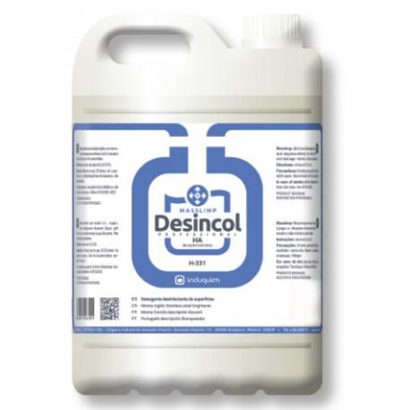 Limpiador Desinfectante Colectividades  5L.