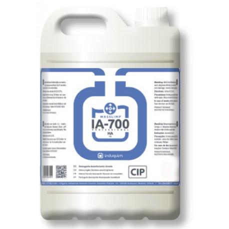 Detergente Higiénizante Clorado 5 Litros IA-701