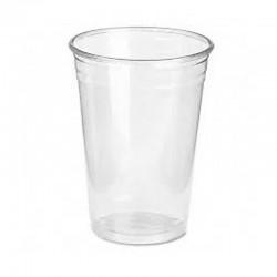 Vasos Plástico Mini Transparente 25 unds Desechable