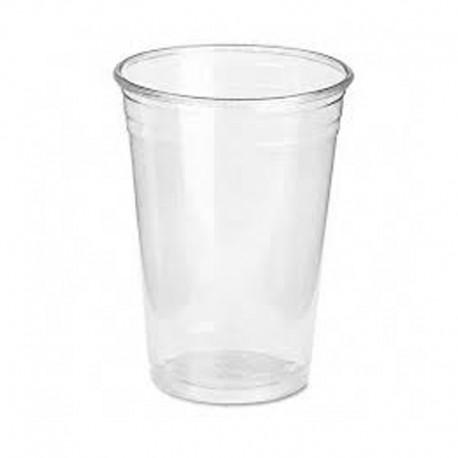 Vaso Plástico Mini Transparente