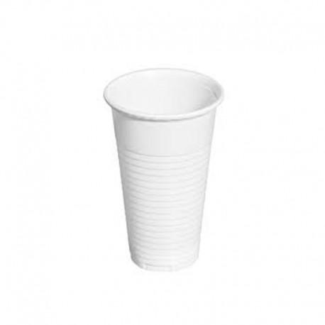Vaso Plástico 220cc Blanco