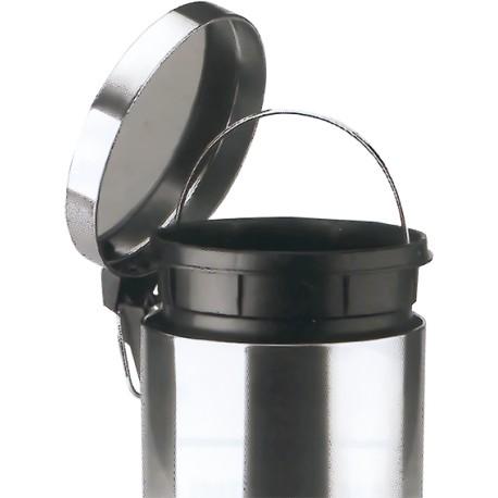 Papelera  INOX Bin con Pedal 5 L