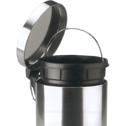 Papelera  INOX Bin con Pedal 20 L