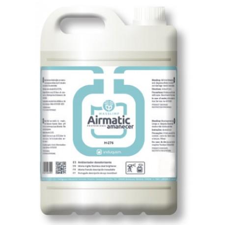 Ambientador AMANECER (4X5 litros) Desodorizante Uso Profesional
