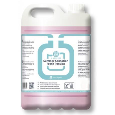 Ambientador SUMMER SENSATION FRESH (4X5 litros) Desodorizante Uso Profesional