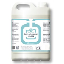 Ambientador SUMMER SENSATION MALIBÚ (4X5 litros) Desodorizante Uso Profesional