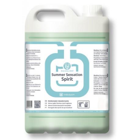 Ambientador SUMMER SENSATION SPIRIT (4X5 litros) Desodorizante Uso Profesional