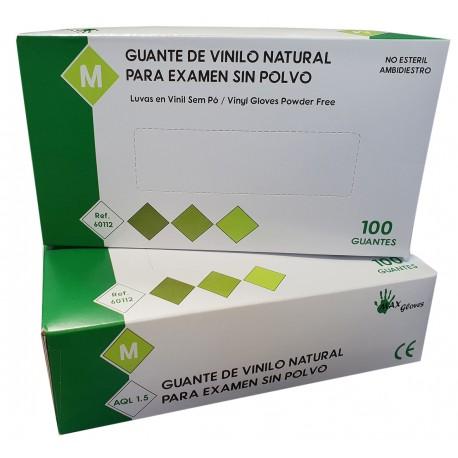 100 Guantes Vinilo OFERTA ONLINE