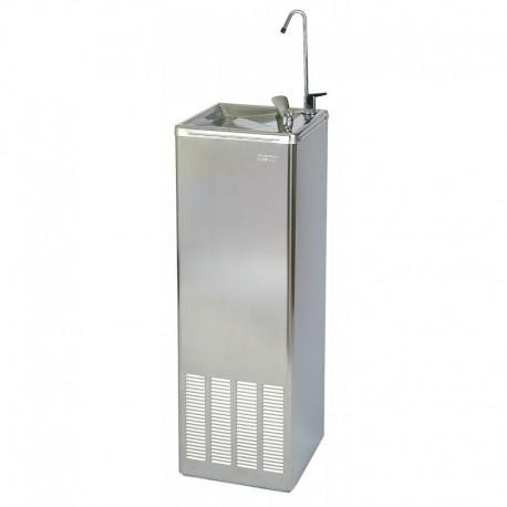 Fuente de Agua con Pulsador 50 L/H Acero Inox.