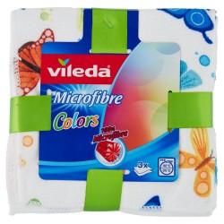 Bayetas Vileda Microfibra Pack 3 unds
