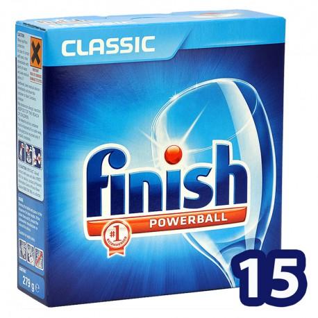 Finish 15 Pastillas Classic Powerball