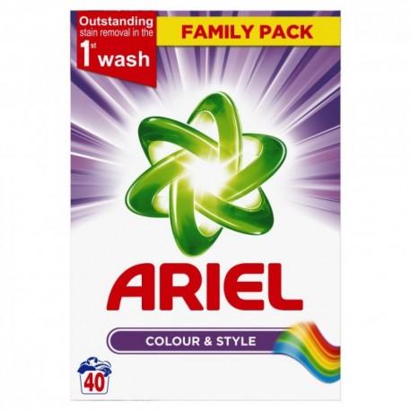Ariel Detergente Lavadora en Polvo 2.6 Kg