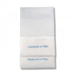 Servilletas Miniservis 14000 unds Papel Celulosa 17x17 Hostelería