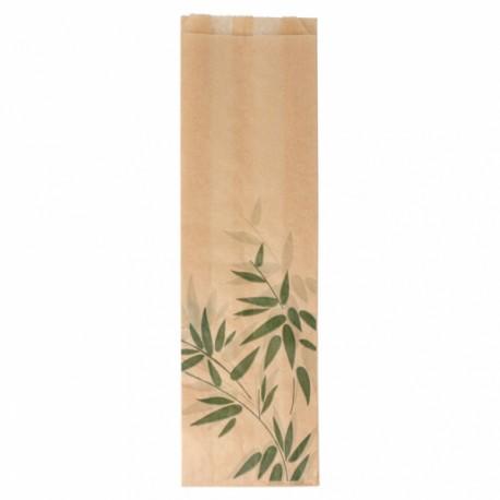 Bolsas de papel Antigrasa Baguette Kraft 9 + 4 x 30 cm - 500 unds
