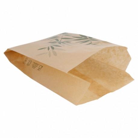Bolsas de Papel Antigrasa HAMBURGUESA 12 + 7 x 18 cm - 500 unds