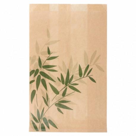 Bolsas de Papel Antigrasa HAMBURGUESA 14 + 7 x 22 cm - 500 unds