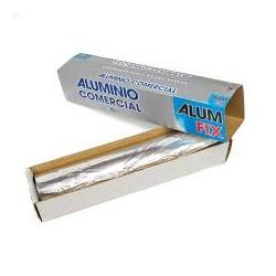 Rollo de Papel Aluminio Industrial Económico 30 cm ancho x 250 mts