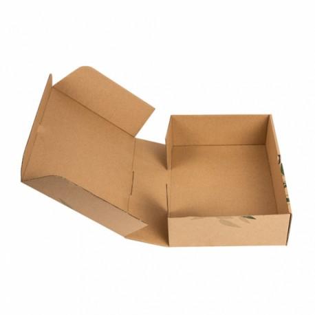 Caja Cartón para llevar comida Comida REFERENCIA 211.48 - 100 unds