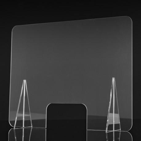 Mamparas Anticontagio de Proteccción Metraquilato70x50 cm