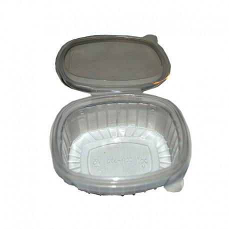 Envase 375 cc. Transparente con tapa