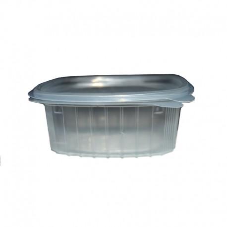 Envase 500 cc. Transparente con tapa