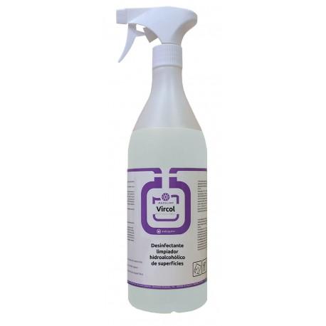 Comprar Desinfectante con ALCOHOL  para Pulverizar Virucida de 1Litro VIRCOL