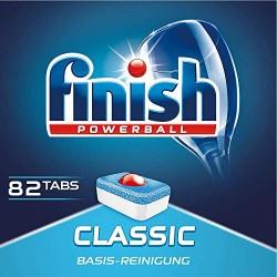 Pastillas Finish 82 lavados Classic para Lavavajillas