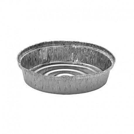 100 Envases de Aluminio Pollo con sus 100 tapas