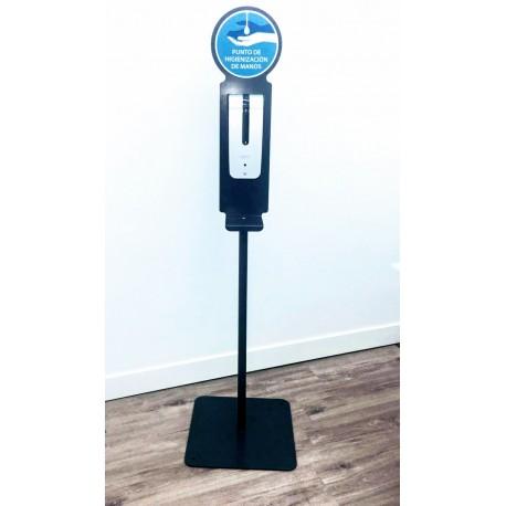 Jabonera Automática Gel Hidroalcohólico con pie