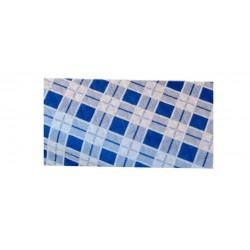 Mantel Plano Cuadro Azul (100x100)