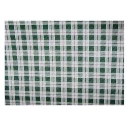 Mantel Plano Cuadro Verde (100x100)