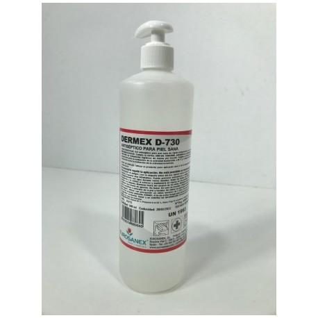 Gel Hidroalcohólico DERMEX 500 ml Higienizante